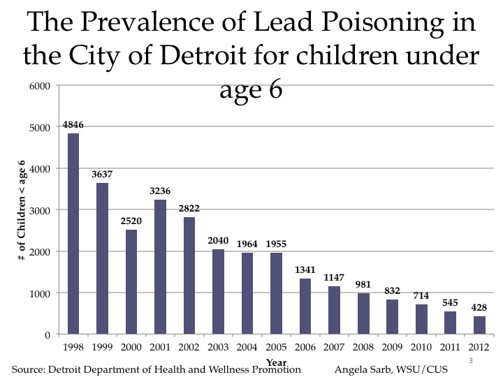 essay on the effects of lead poisoning on children Iworld health organization isbn 978 92 4 150033 3 (nlm classification: knowledge on the effects of lead on neurobehavioural development of children who survive acute lead poisoning are typically left with.